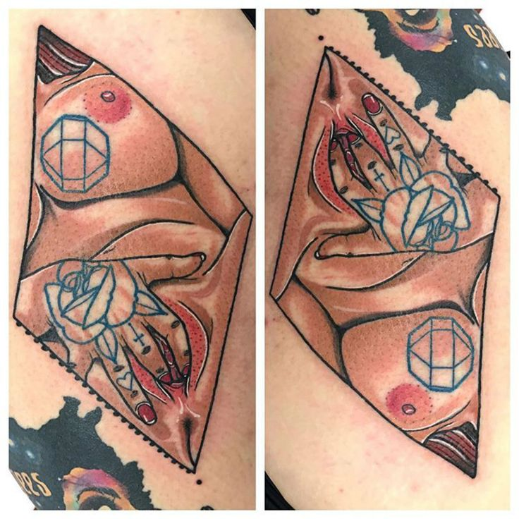 Tattoo done by Michael Gibson.