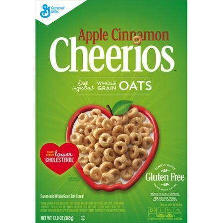 Apple Cinnamon Cheerios Cereal 12.9 oz. Box