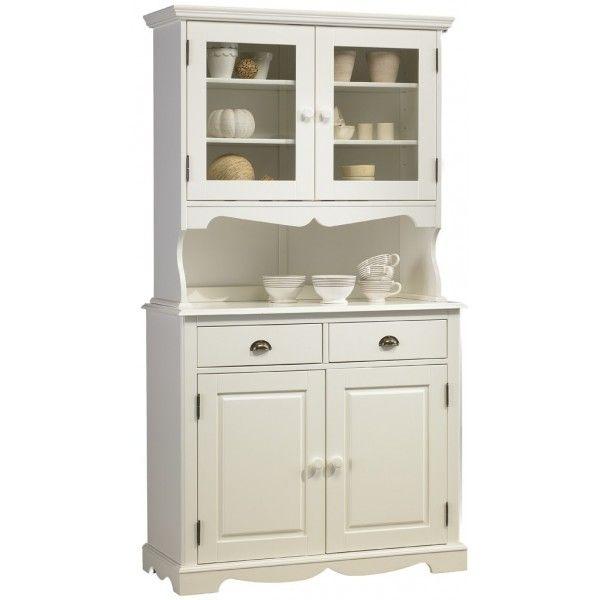 Les 25 meilleures id es de la cat gorie vaisselier blanc sur pinterest armo - Meubles blanc d ivoire ...