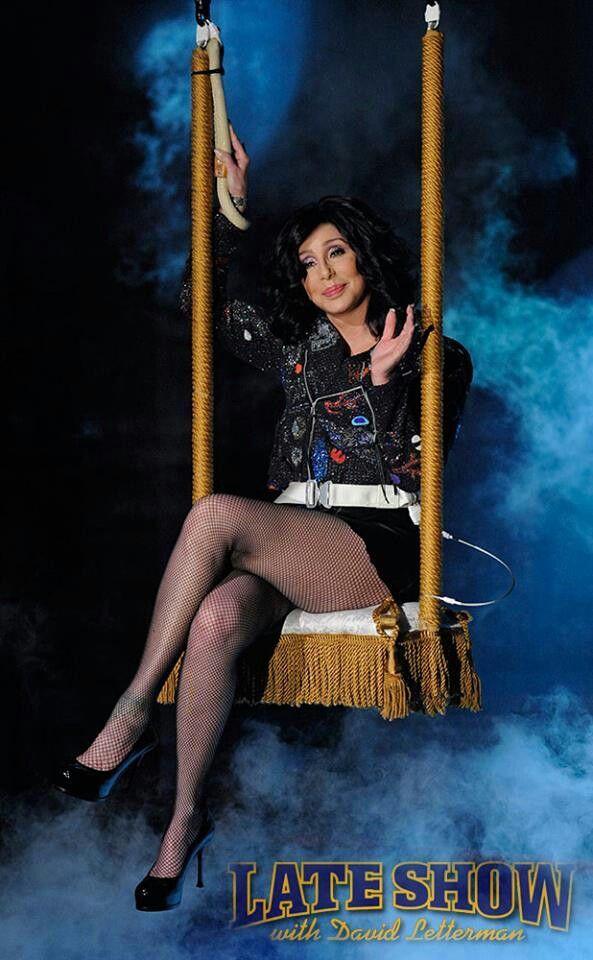 Cher - David Letterman show
