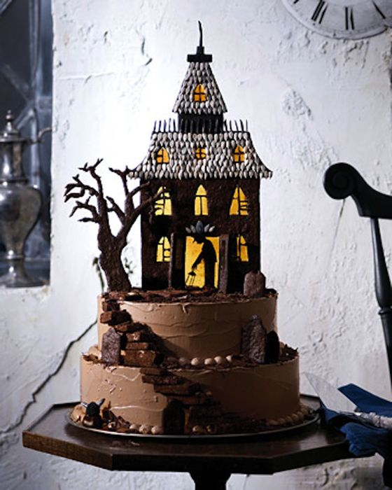 Haunted Mansion Cake Topper