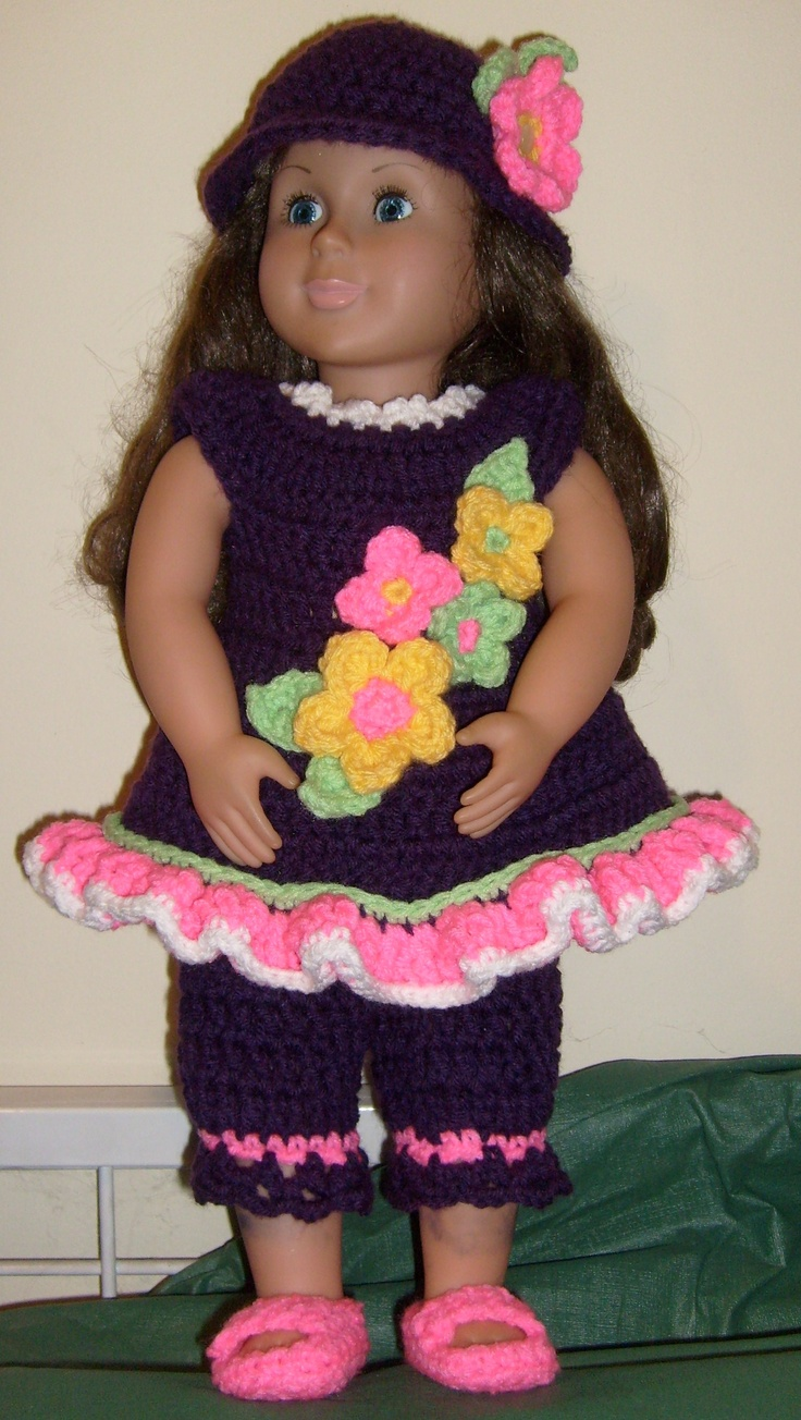 30 best American Girl Doll Cloths images on Pinterest | American ...