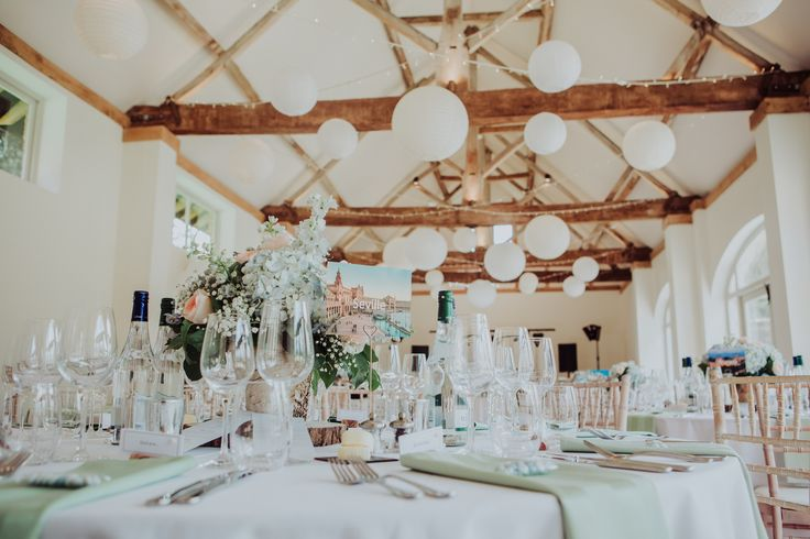 A beautiful canopy of true warm white fairylights with white and ivory hanging lanterns. We loved creating this canopy for a very special couple @dorneycourt #hanginglanterns #barnwedding #countrywedding #eventprofs #berkshire #buckinghamshire  Photographed by Louisa Jane http://www.photographybylouisajane.com/
