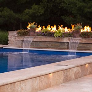 25 Best Images About Pools On Pinterest Decking Fiberglass Pools And Rectangular Pool