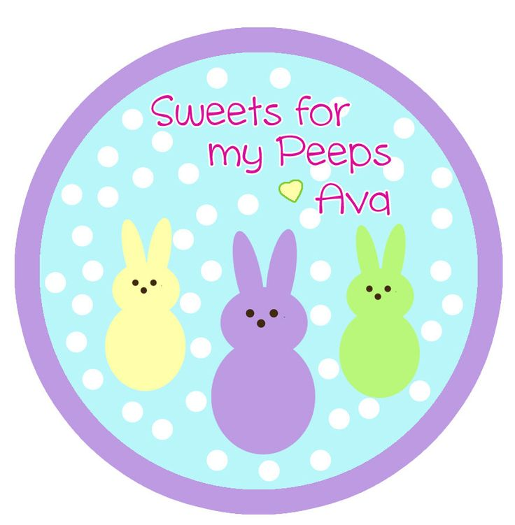 23 best party favor tags and toppers images on pinterest party easter gift taggoodie bag tags easter easter bag toppers peeps negle Choice Image