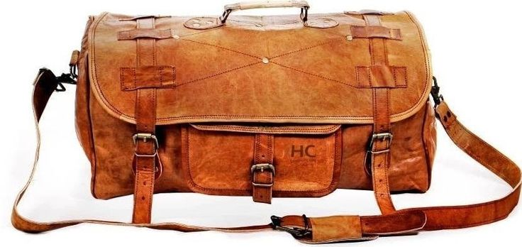 Weekender bag men's leather travel overnight bag duffle women sports carry all #Handmade #DuffleGymBag