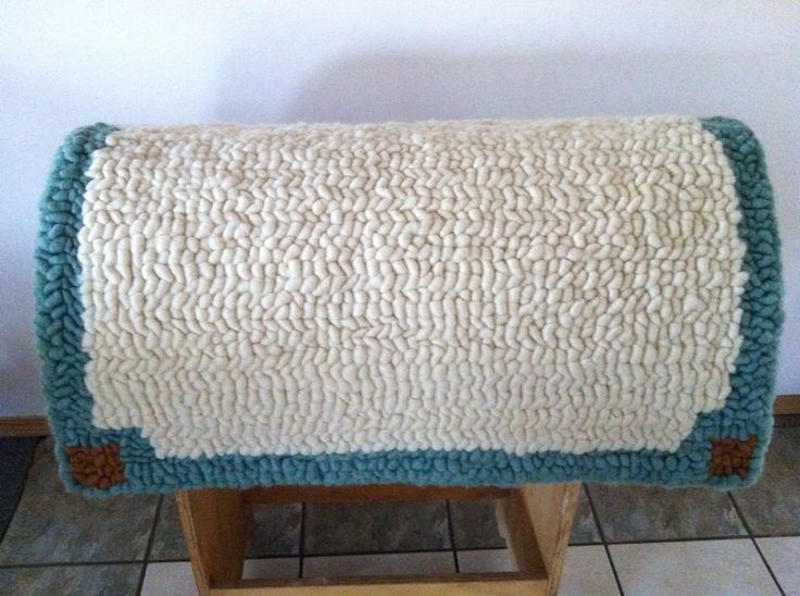 Pulled Wool Saddle Pads Bridgit's Bohemian Bunkhouse #bridgitsbohemianbunkhouse #pulledwoolsaddlepads