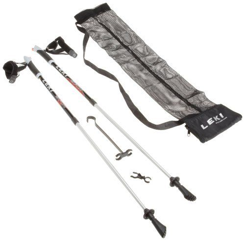 LEKI Nordic Walking NW Spin Poles by Leki. $89.95. Offering everything needed to enjoy the aerobic benefits of fitness walking, the LEKI Nordic Walking Starter Kit includes a pair of Spin Nordic walking poles, an instructional DVD, a pole carry bag and a log booklet. Together, the contents of the Nordic Walking Starter Kit are sure to improve your exercise regimen. Rapidly growing in popularity in the United States, Nordic walking is a fresh approach to fitness. Started b...