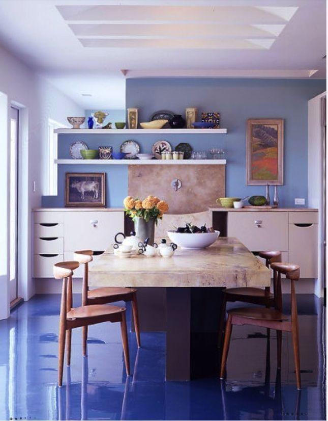 Apoxy Floors In Kitchen