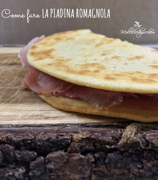 Non so voi, ma io ho cercato spesso la ricetta su come fare in casa la piadina romagnola, ne ho provate tante ottenendo il più delle volte un prodotto...