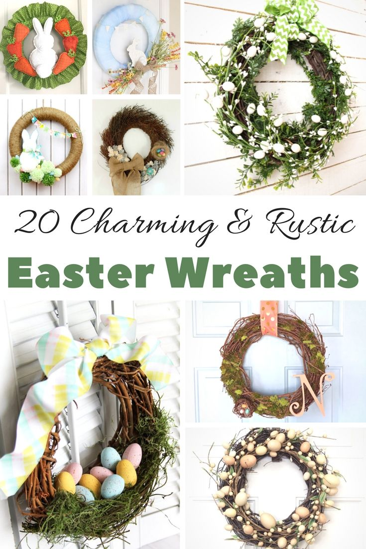 The Best Spring Easter Wreath Ideas To Make At Home Diy Spring