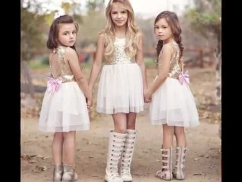latest and Beautiful fancy party wear dresses for Kids