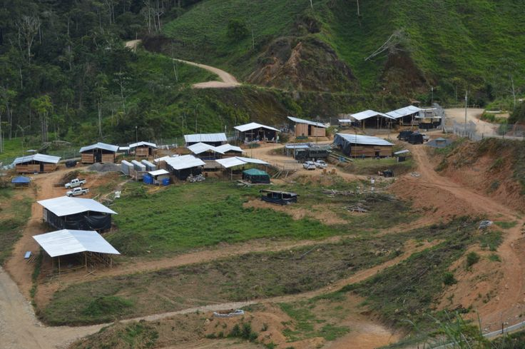 Mineros desplazaron a nativos ecuatorianos