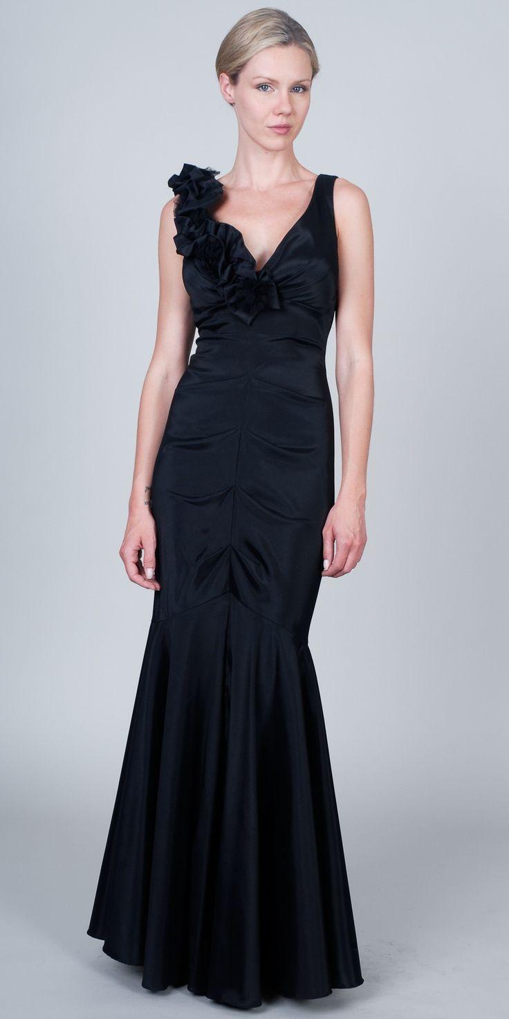 24 best Black Evening Dress images on Pinterest
