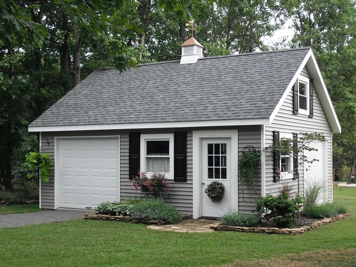 Best 25 detached garage ideas on pinterest detached for Custom garage plans