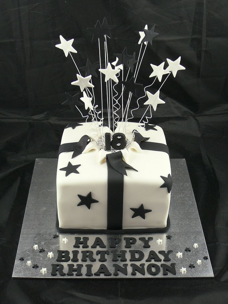 18th Birthday Cake cake ideas Pinterest Cakes