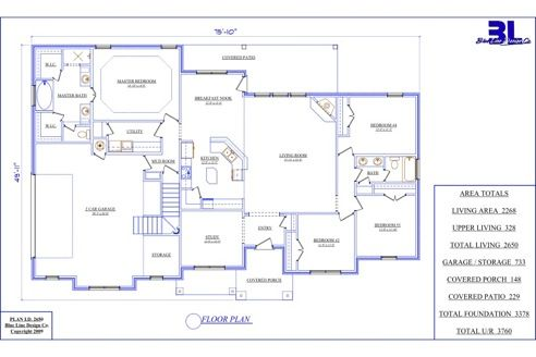 blue line home design - free image gallery