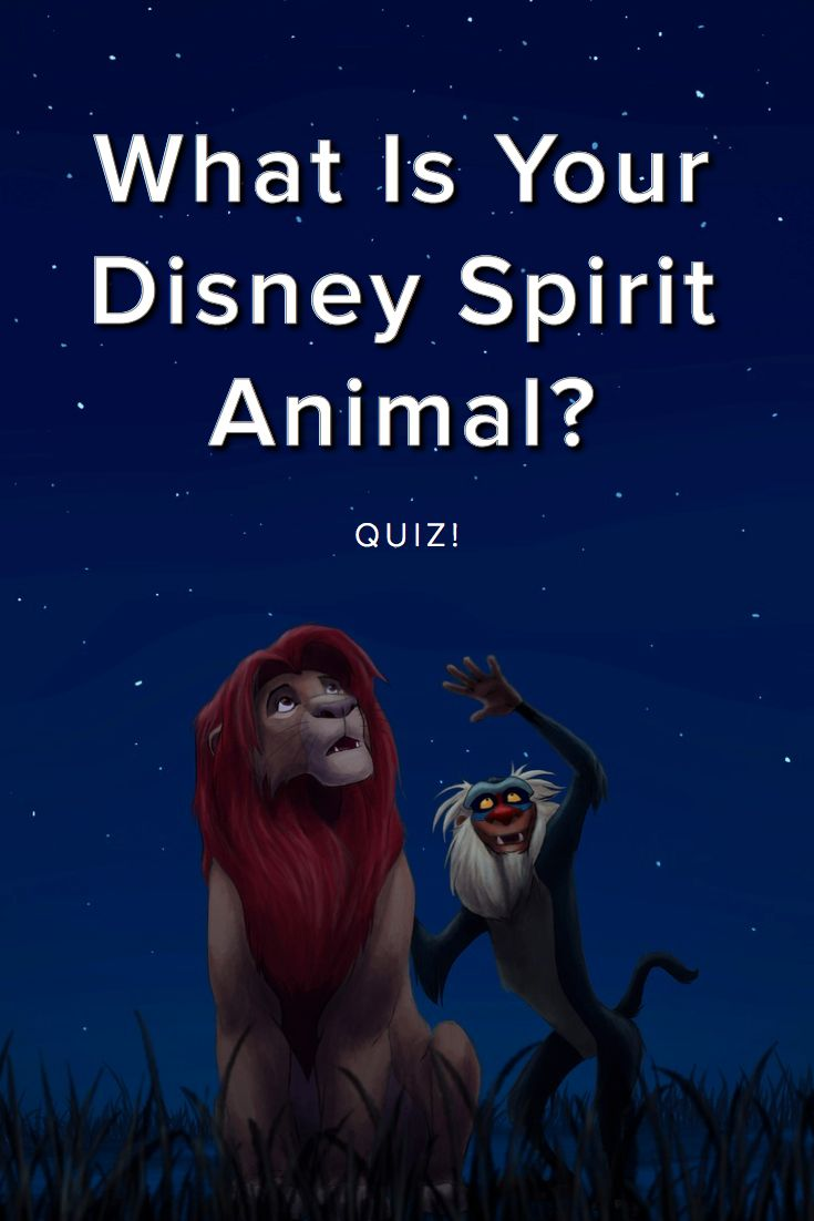 What Is Your Disney Spirit Animal? Everyone has a cute lovable amazingly colorful Disney spirit animal! Take this quiz and find out yours today!