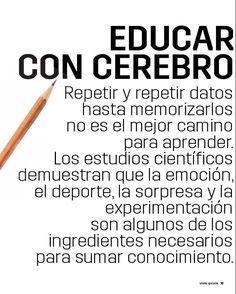Funcionamiento del Cerebro - Enseñando Mejor con Ayuda de la Neuroeducación | #eBook #Educación