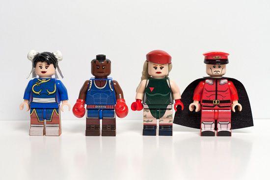 LEGO Street Fighter 2 MinifigsJulian Fong, Lego Fun, Custom Lego, Lego Street, Fighter Lego, Lego Builder, Amazing Street, Street Fighter, Fighter Editing