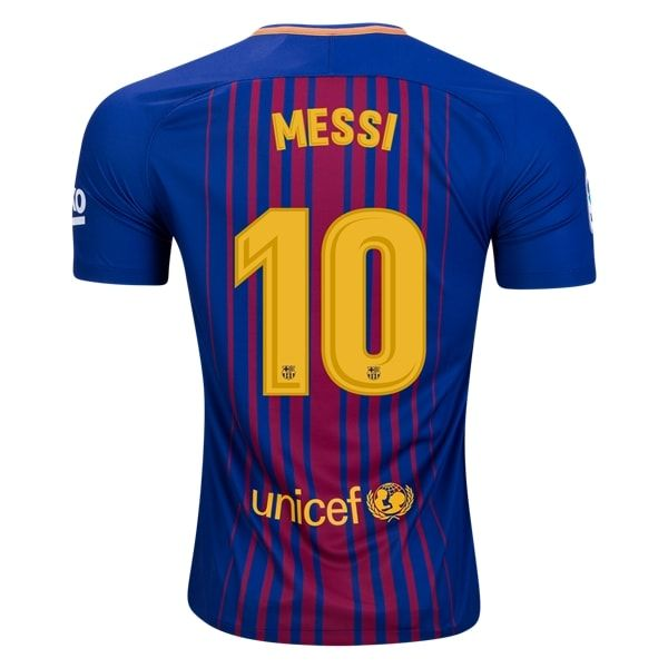 Nike Lionel Messi Barcelona Home Jersey 17/18