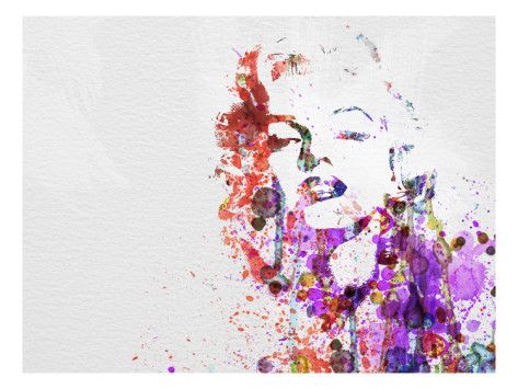 This Marilyn Monroe poster celebrates the beauty icon in a fresh and modern way. #MarilynMonroe