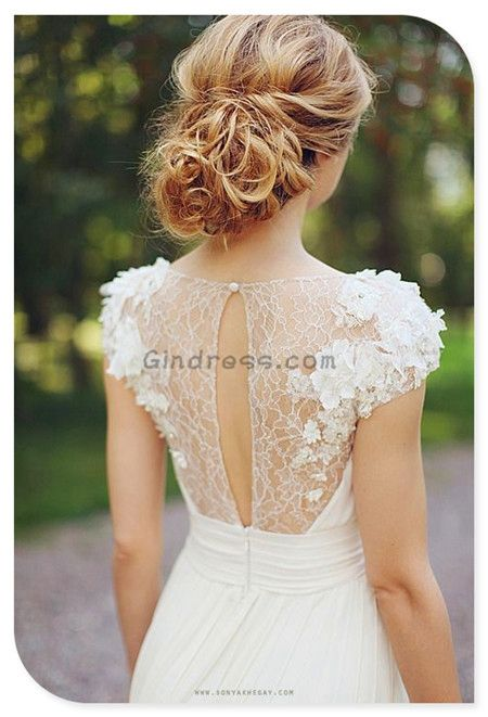 vintage wedding dress vintage wedding dresses and the hair!