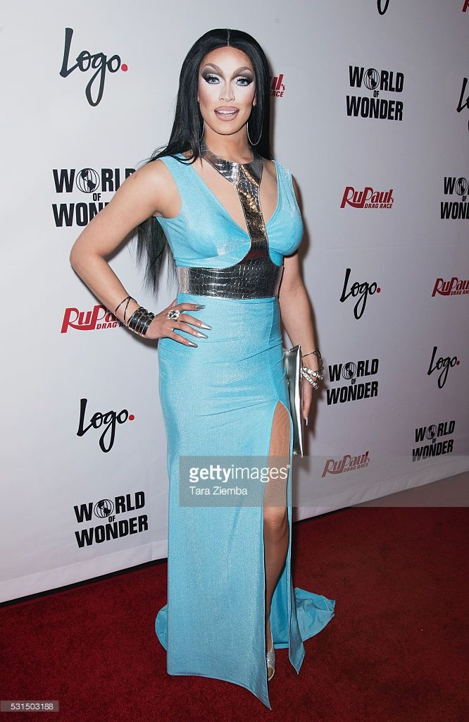 Tatianna attends the finale of Logo's 'RuPaul's Drag Race' Season 8 at The Orpheum Theatre on May 10, 2016 in Los Angeles, California.