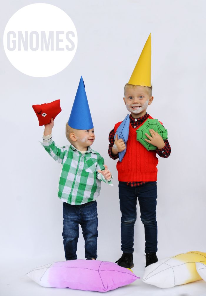 no sew gnome costumes