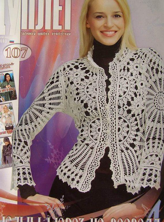 Crochet patterns magazine DUPLET 107 by DupletCrochetSchool
