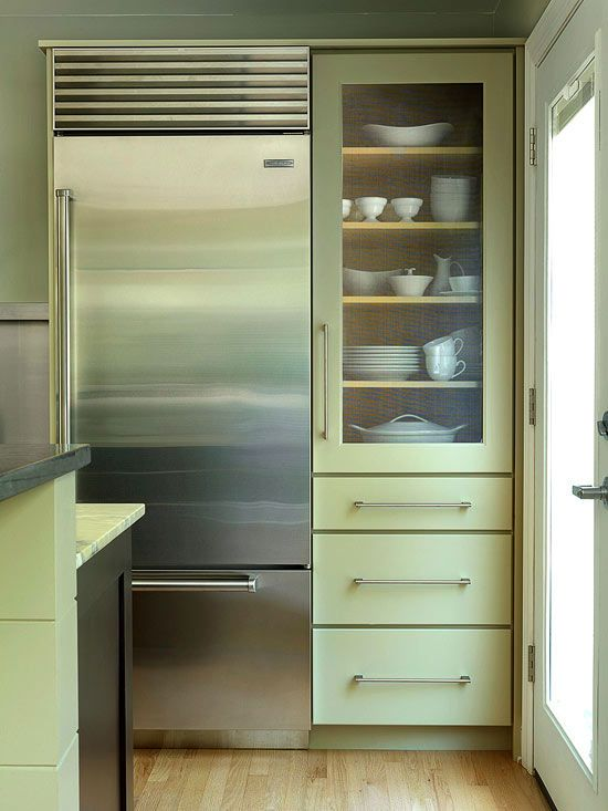 68 Best Kitchen Above And Beside Fridge Images On