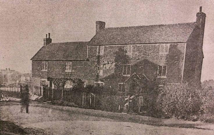 Rusthall Workhouse, demolished 1900.