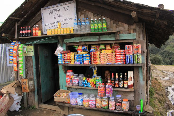 Lunch stop in Nepal on the way up to Sandakphu