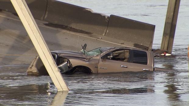 Bridge collapse survivor cant swim, calls husband a hero | CTV British Columbia News