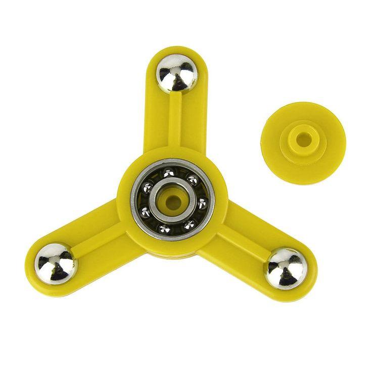 Tri-Spinner Toy Plastic Hand Spinner Finger Spinner Toys For Adults Kids