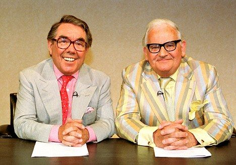 And it's goodnight from them. RIP Two Ronnies
