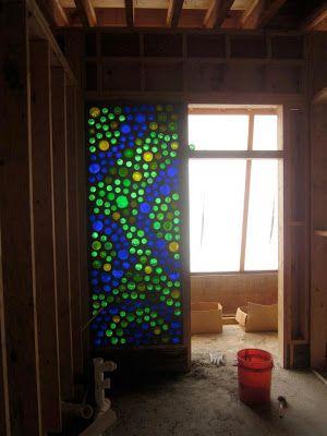 Bottle Brick Making by Kris - Manitoba Earthship
