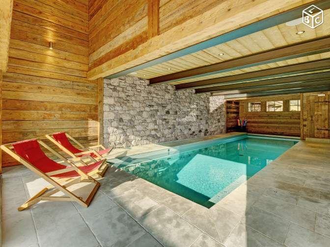 chalet tout confort avec piscine intrieure locations gtes haute savoie leboncoinfr - Location A La Montagne Avec Piscine