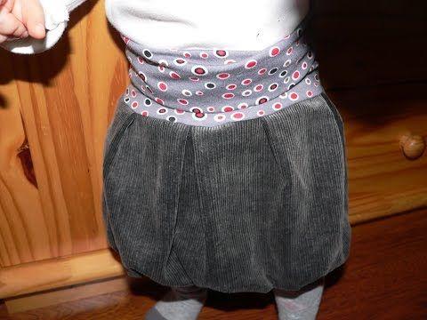 balloon skirt sewing for begginers/ toddler skirt sewing tutorial/ easy skirt sewing tutorial/ jednoduchá balonová sukně /baby skirt/střih na balonovou sukni pro jakoukoliv postavu - tutorialVidea  - YouTube