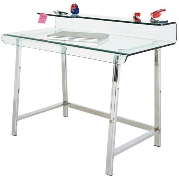 M s de 25 ideas incre bles sobre mesa escritorio cristal en pinterest mesa de comedor moderna - Mesas de ordenador de diseno ...