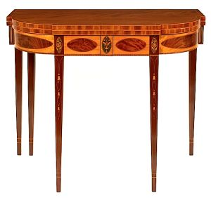 An Article About Using Inlay Styles To Identify Regional Furniture Of The Federal Period