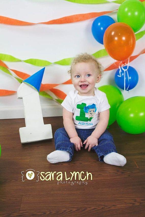 1st Birthday Shirts Bubbles