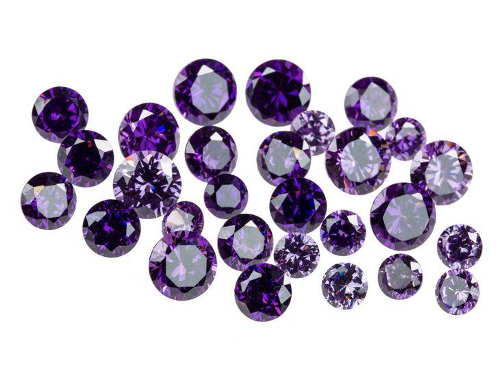 Zircon brillant rond violet, 4, 5 et 6 mm en sachet de 28 http://www.cookson-clal.com/bijoux-perles/Zircon-brillant-rond-violet-4-5-et-6-mm-en-sachet-de-28-prcode-61CZ-P016 cooksonclal