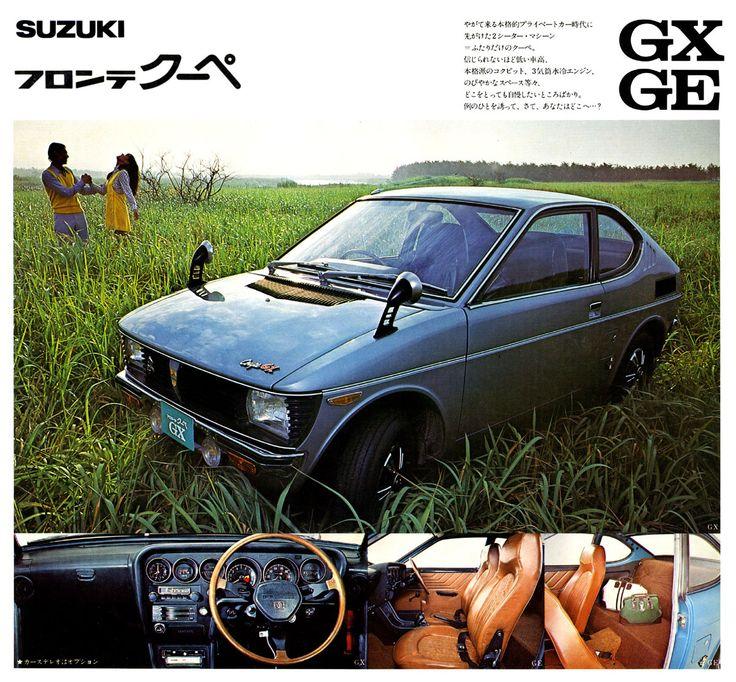 Suzuki Fronte Coupé GX | GE brochure