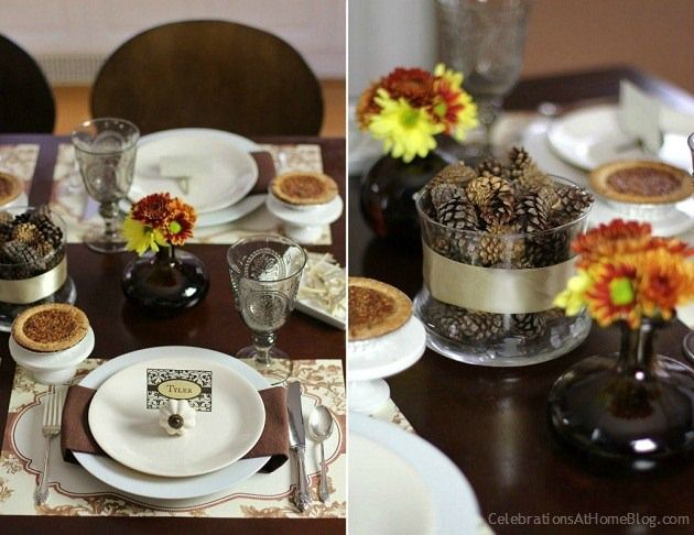 Thanksgiving Tablescape Ideas The Ribbon Thanksgiving