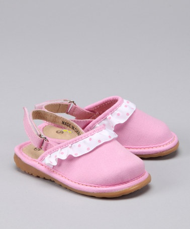 Take a look at this Pink Shuffle Mule  by Squeak Me Shoes on @zulily today!: Shoes, Shuffl Mule, Pink Shuffl, Squeak, Sandals, Zulili Today, The Roller Coasters