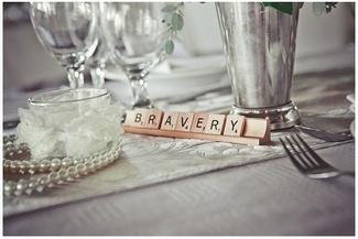 Scrabble Tile Table Names - Handmade Rustic Beach Wedding {Strandkombuis Beach} | Confetti Daydreams