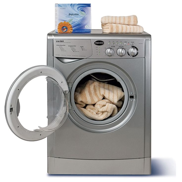 Splendide 7100XC Washer/Dryer, Platinum