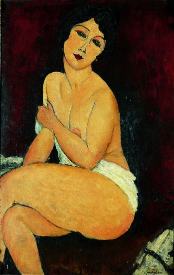 "Amedeo Modigliani, "" La Belle Romaine """