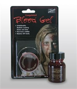 Coagulated Blood Gel - AZ PARTY Getting ready for Halloween, 31st Oct.